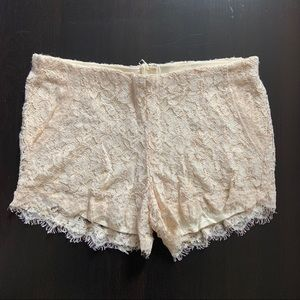 Wilfred Lace Shorts